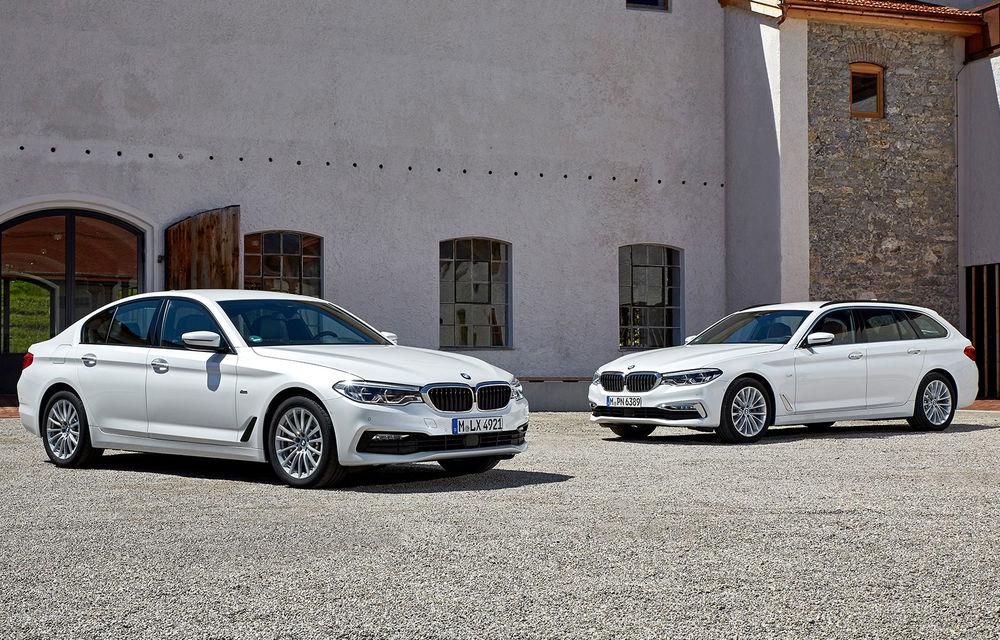 BMW introduce o versiune mild-hybrid pentru Seria 5: varianta 520d va avea sistem electric la 48V și consum mai mic cu până la 0.3 litri/100 de kilometri - Poza 1