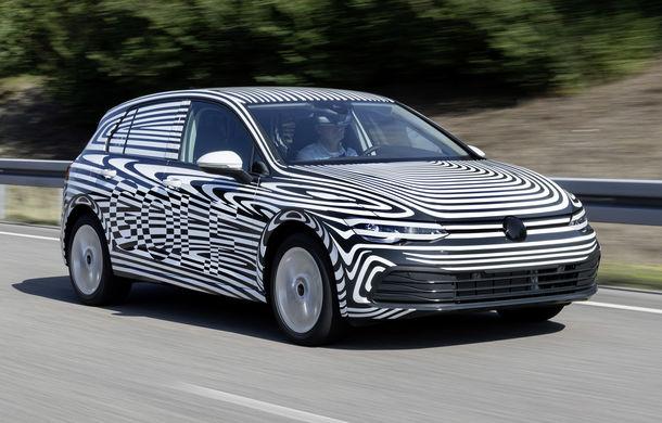 Noi detalii despre Volkswagen Golf 8: noua generație va avea versiuni plug-in hybrid de 204 CP și 245 CP - Poza 1