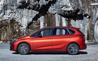 Informații despre viitoarea generație BMW Seria 2 Active Tourer: design preluat de la noul Seria 1 și fără versiune Gran Tourer cu 7 locuri
