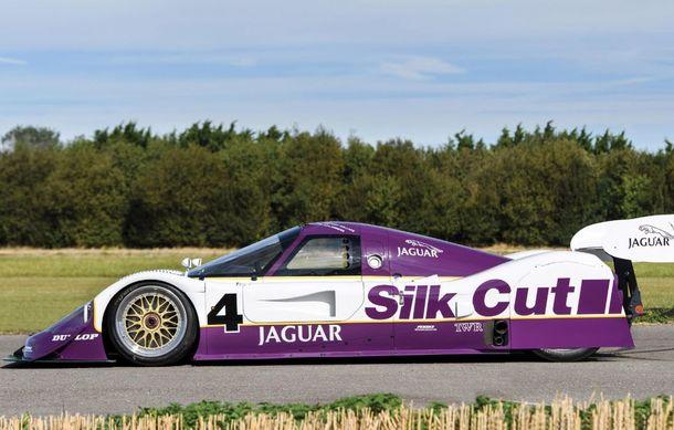 Un exemplar Jaguar XJR-11 care a concurat în etapele de anduranță din 1989 și 1990 va fi scos la licitație: doar trei astfel de unități au fost produse - Poza 3