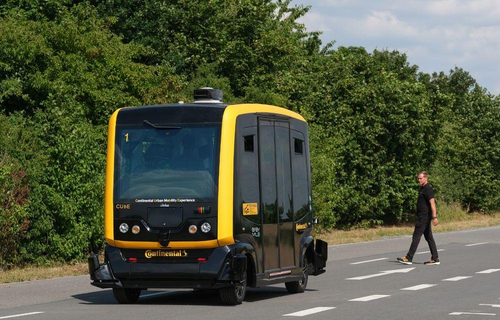 Continental prezintă tehnologiile viitorului imediat: sistem mild-hibrid la 48V cu rulare 100% electrică, siguranță sporită cu noul asistent pentru virajul la dreapta și orașele conectate ale viitorului - Poza 6