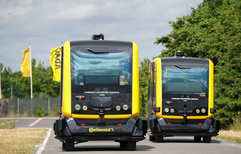Continental prezintă tehnologiile viitorului imediat: sistem mild-hibrid la 48V cu rulare 100% electrică, siguranță sporită cu noul asistent pentru virajul la dreapta și orașele conectate ale viitorului - Poza 8