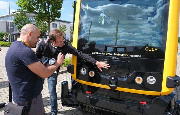 Continental prezintă tehnologiile viitorului imediat: sistem mild-hibrid la 48V cu rulare 100% electrică, siguranță sporită cu noul asistent pentru virajul la dreapta și orașele conectate ale viitorului - Poza 17
