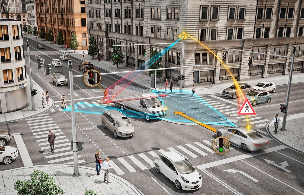 Continental prezintă tehnologiile viitorului imediat: sistem mild-hibrid la 48V cu rulare 100% electrică, siguranță sporită cu noul asistent pentru virajul la dreapta și orașele conectate ale viitorului - Poza 3