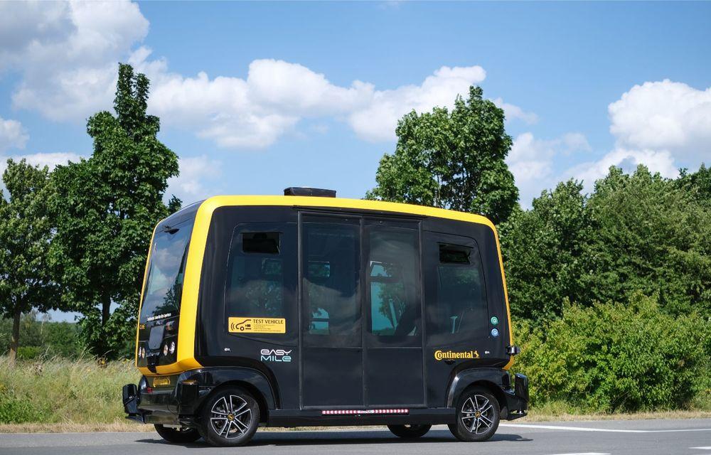 Continental prezintă tehnologiile viitorului imediat: sistem mild-hibrid la 48V cu rulare 100% electrică, siguranță sporită cu noul asistent pentru virajul la dreapta și orașele conectate ale viitorului - Poza 5