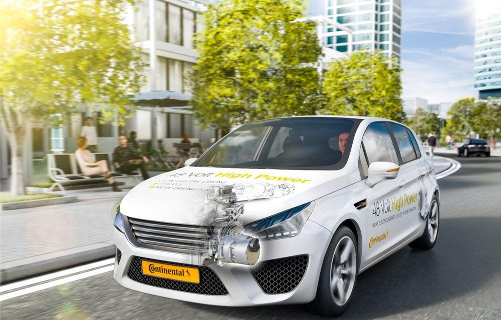 Continental prezintă tehnologiile viitorului imediat: sistem mild-hibrid la 48V cu rulare 100% electrică, siguranță sporită cu noul asistent pentru virajul la dreapta și orașele conectate ale viitorului - Poza 27