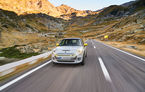 """Transfăgărășanul împlinește 45 de ani: ședință foto aniversară cu primul model electric Mini pe """"cea mai frumoasă șosea din lume"""""""