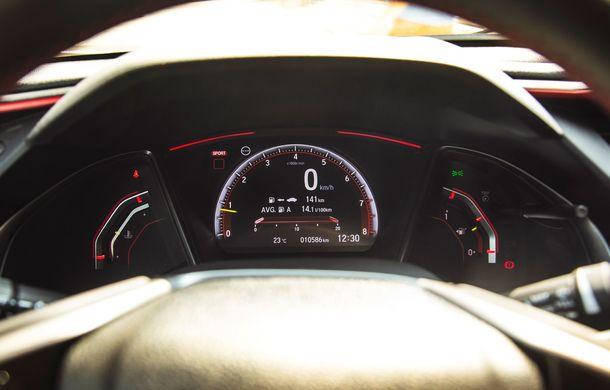 """Două săptămâni în """"civil"""" cu Honda Civic Type R: cum se comportă Hot Hatch-ul nipon în viața de zi cu zi - Poza 20"""