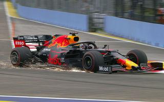 Red Bull și Mercedes, luptă echilibrată în antrenamentele din Singapore: Verstappen și Hamilton au fost cei mai rapizi