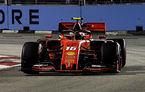 Leclerc, pole position în Singapore în fața lui Hamilton! Vettel și Verstappen, în a doua linie a grilei de start
