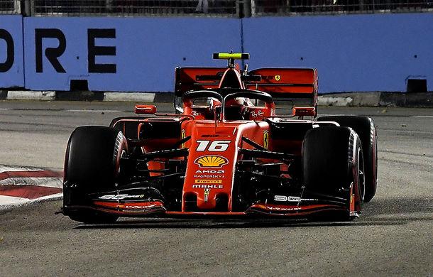 Leclerc, pole position în Singapore în fața lui Hamilton! Vettel și Verstappen, în a doua linie a grilei de start - Poza 1