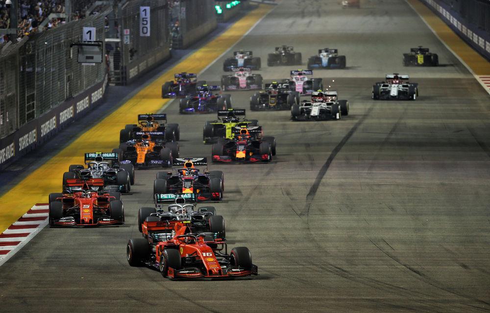 Vettel a câștigat cursa din Singapore după ce l-a depășit la boxe pe Leclerc! Verstappen a completat podiumul - Poza 1