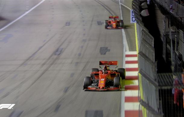 Vettel a câștigat cursa din Singapore după ce l-a depășit la boxe pe Leclerc! Verstappen a completat podiumul - Poza 5