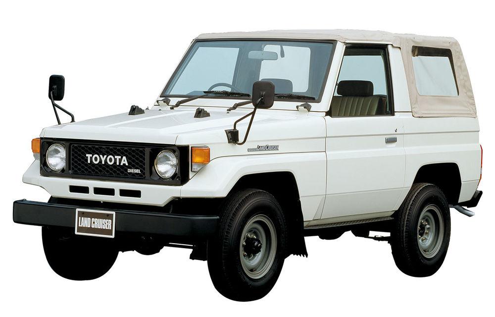 Legendarul Toyota Land Cruiser a fost produs în 10 milioane de unități: modelul nipon de off-road a fost lansat în urmă cu 68 de ani - Poza 3