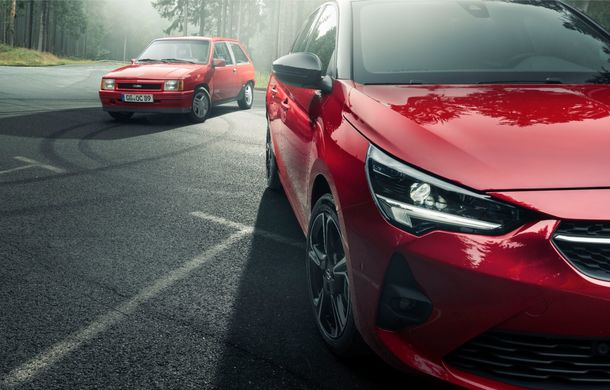 Atac la Ford Fiesta ST Line: Opel introduce nivelul de echipare GS Line pe noua generație Corsa - Poza 3