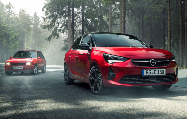 Atac la Ford Fiesta ST Line: Opel introduce nivelul de echipare GS Line pe noua generație Corsa - Poza 1