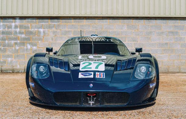 Un exemplar Maserati MC12 GT1 va fi scos la licitație: modelul a concurat în etapele de anduranță din SUA - Poza 2