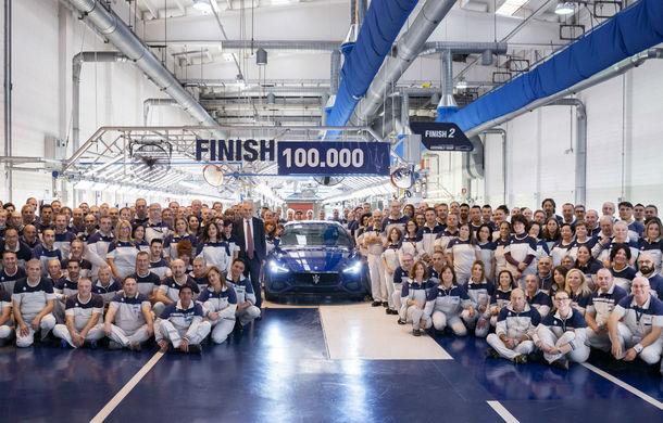 Sărbătoare la Maserati: producția modelului Ghibli a ajuns la 100.000 de exemplare - Poza 1