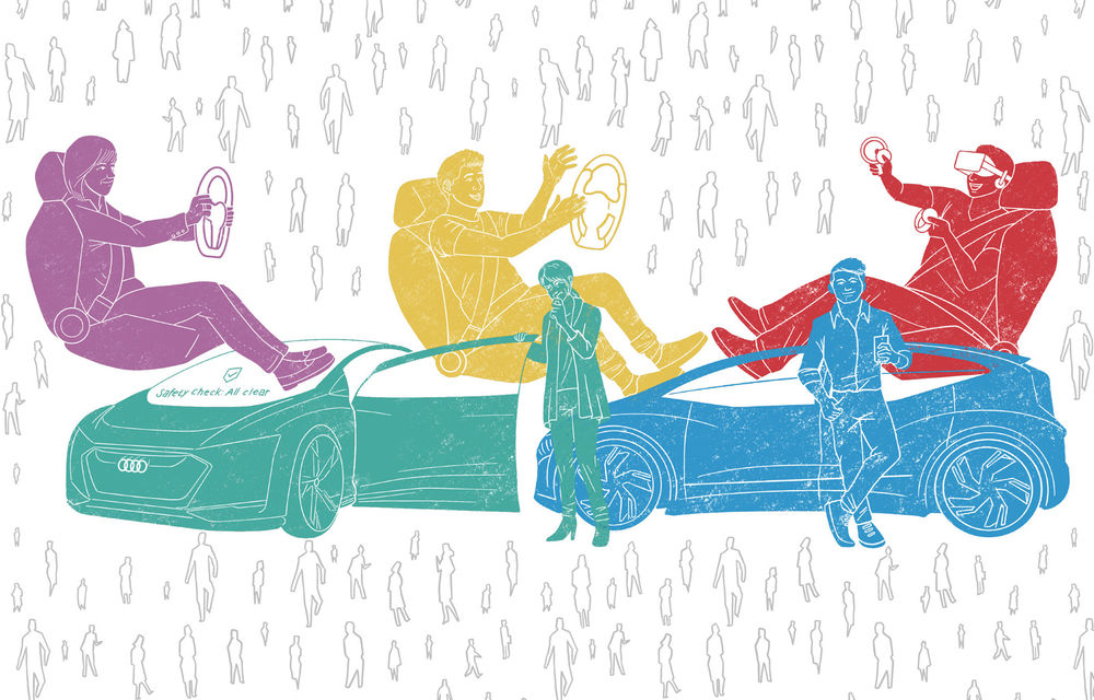 Audi a realizat un studiu despre percepția asupra mașinilor autonome: tinerii, persoanele cu venituri mari și chinezii, cei mai mari fani ai tehnologiei - Poza 1
