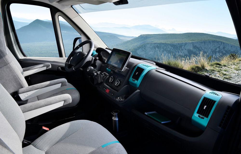 Peugeot Boxer 4x4 Concept: autorulota producătorului francez debutează în 28 septembrie - Poza 4