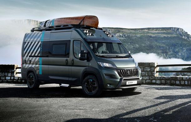 Peugeot Boxer 4x4 Concept: autorulota producătorului francez debutează în 28 septembrie - Poza 1