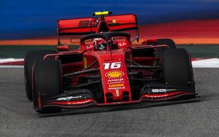 Leclerc a obținut în Rusia al patrulea pole position consecutiv în Formula 1! Hamilton îl învinge pe Vettel în lupta pentru locul doi