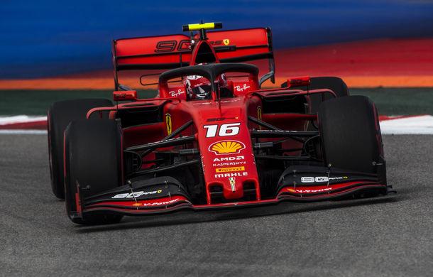 Leclerc a obținut în Rusia al patrulea pole position consecutiv în Formula 1! Hamilton îl învinge pe Vettel în lupta pentru locul doi - Poza 1