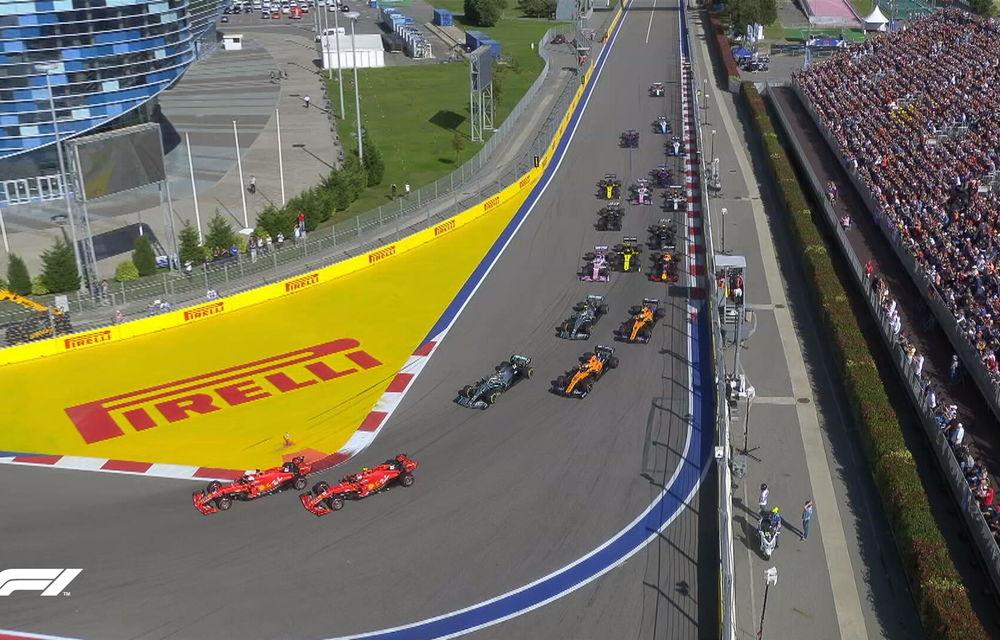 Hamilton a câștigat cursa din Rusia după un abandon al lui Vettel! Bottas și Leclerc completează podiumul - Poza 2