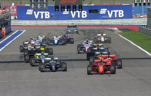 Hamilton a câștigat cursa din Rusia după un abandon al lui Vettel! Bottas și Leclerc completează podiumul - Poza 1