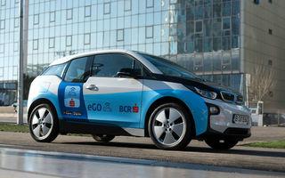 Serviciul de car-sharing eGO a fost lansat și la Timișoara: flotă formată din 10 mașini electrice BMW i3