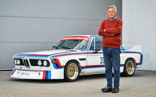 Video. Jochen Neerpasch, părintele BMW Motorsport, pe Transfăgărășan alături de un BMW 3.0 CSL