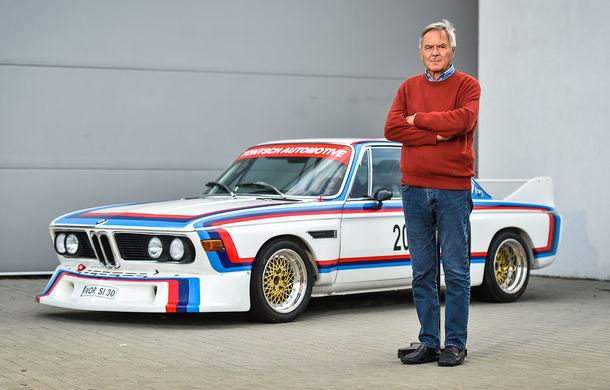 Video. Jochen Neerpasch, părintele BMW Motorsport, pe Transfăgărășan alături de un BMW 3.0 CSL - Poza 1