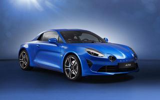 """Alpine pregătește modele noi cu versiuni hibride: """"Electrificarea nu poate fi evitată"""""""