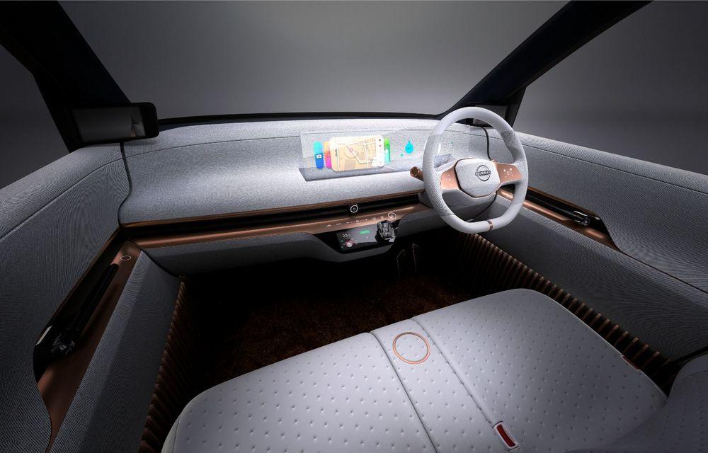 Nissan a prezentat conceptul electric IMk: prototipul are la bază o platformă nouă și anunță un viitor model de oraș - Poza 15