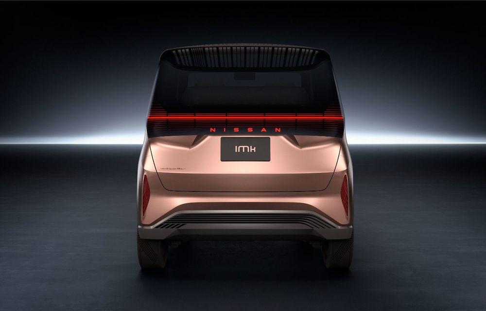 Nissan a prezentat conceptul electric IMk: prototipul are la bază o platformă nouă și anunță un viitor model de oraș - Poza 6