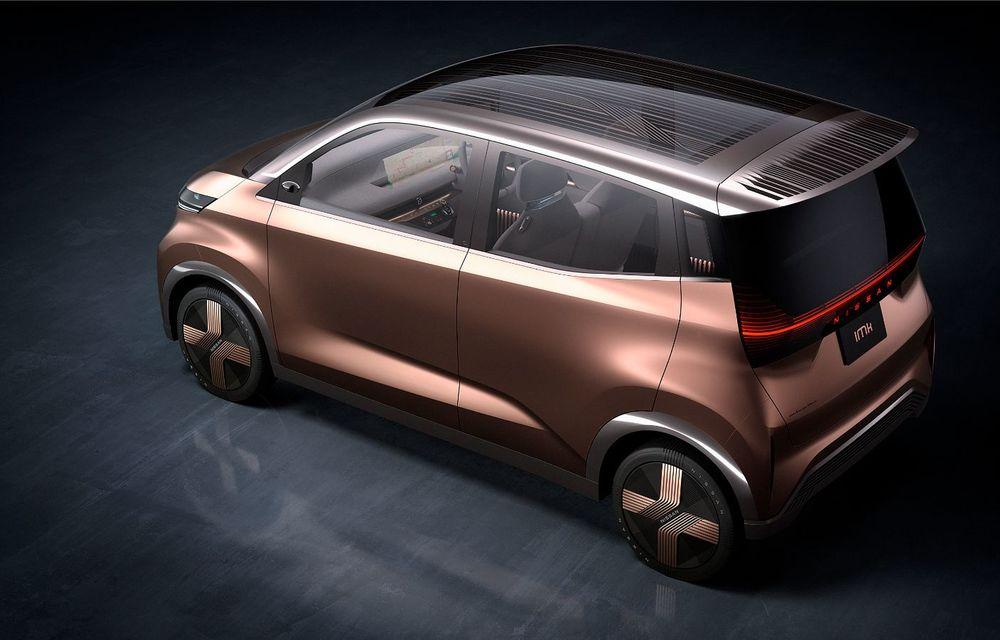 Nissan a prezentat conceptul electric IMk: prototipul are la bază o platformă nouă și anunță un viitor model de oraș - Poza 5