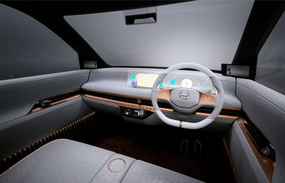 Nissan a prezentat conceptul electric IMk: prototipul are la bază o platformă nouă și anunță un viitor model de oraș - Poza 14