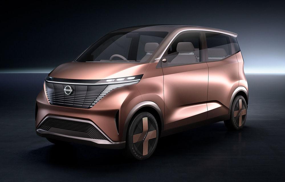 Nissan a prezentat conceptul electric IMk: prototipul are la bază o platformă nouă și anunță un viitor model de oraș - Poza 1