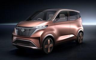 Nissan a prezentat conceptul electric IMk: prototipul are la bază o platformă nouă și anunță un viitor model de oraș