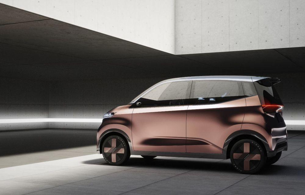 Nissan a prezentat conceptul electric IMk: prototipul are la bază o platformă nouă și anunță un viitor model de oraș - Poza 11