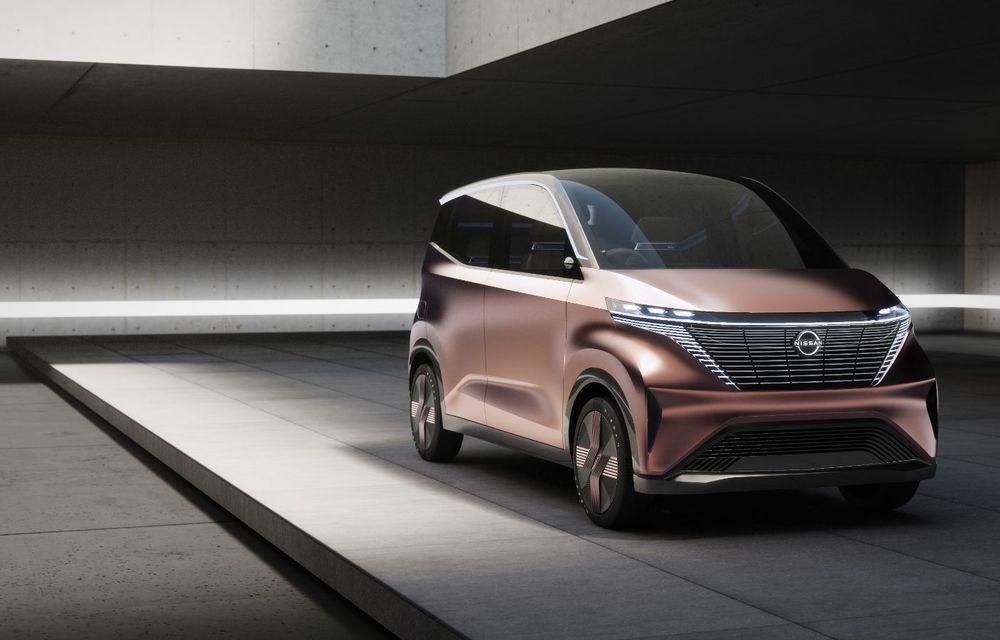 Nissan a prezentat conceptul electric IMk: prototipul are la bază o platformă nouă și anunță un viitor model de oraș - Poza 7