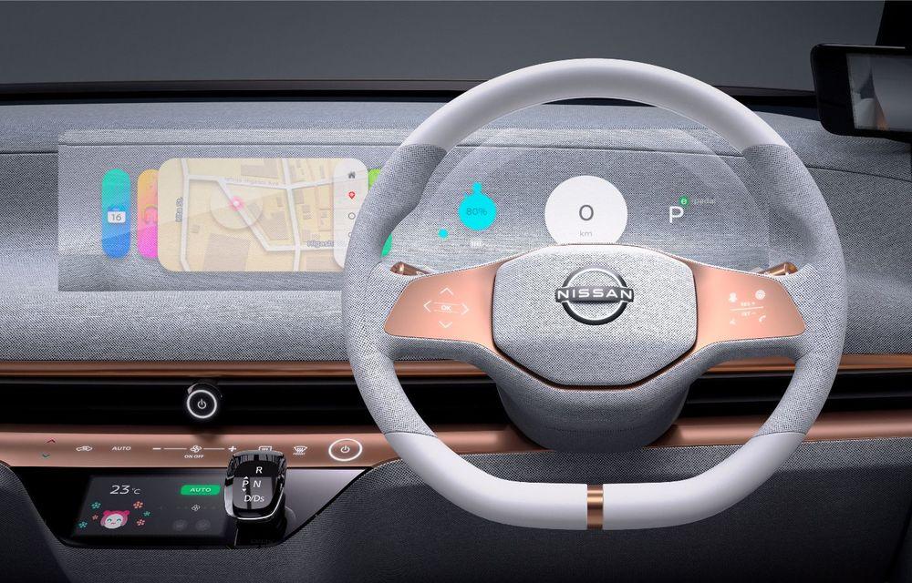 Nissan a prezentat conceptul electric IMk: prototipul are la bază o platformă nouă și anunță un viitor model de oraș - Poza 16