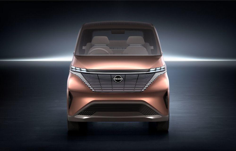 Nissan a prezentat conceptul electric IMk: prototipul are la bază o platformă nouă și anunță un viitor model de oraș - Poza 4
