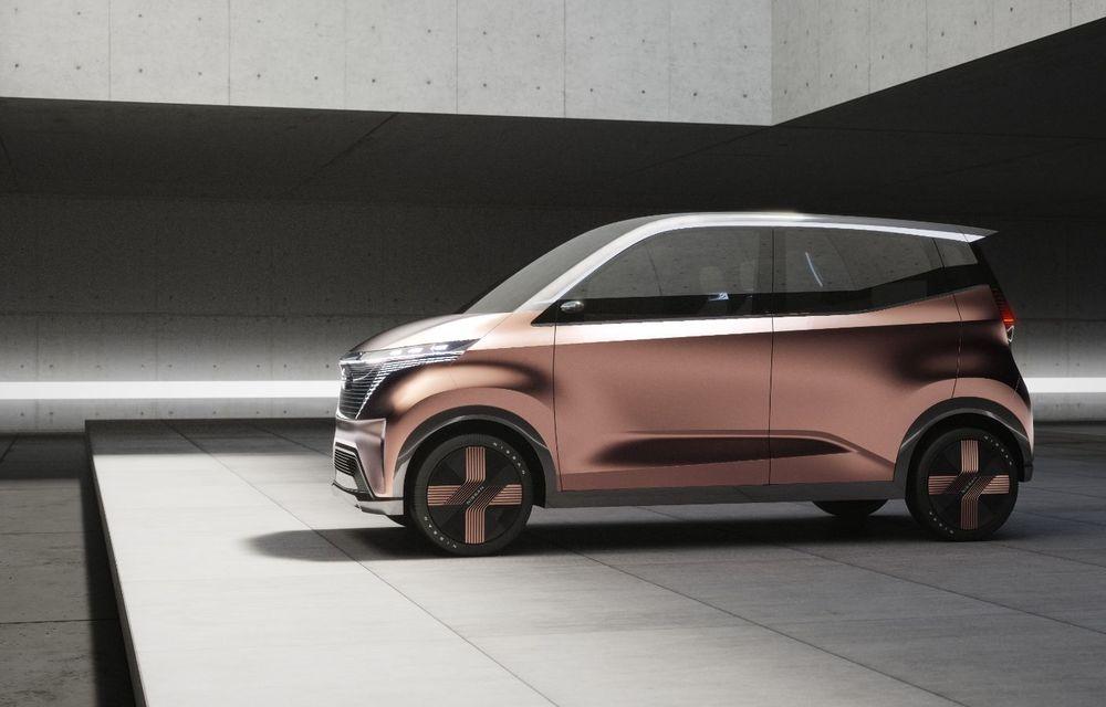 Nissan a prezentat conceptul electric IMk: prototipul are la bază o platformă nouă și anunță un viitor model de oraș - Poza 10