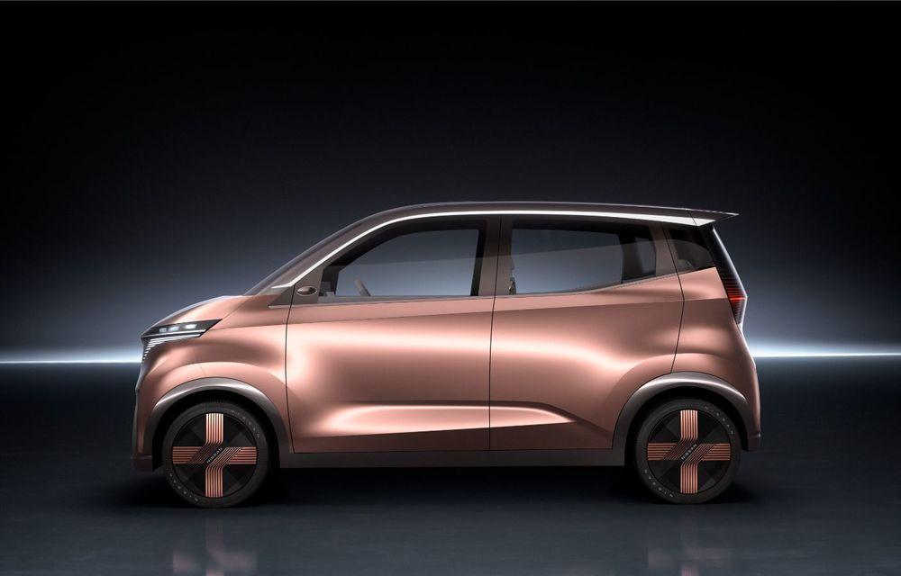 Nissan a prezentat conceptul electric IMk: prototipul are la bază o platformă nouă și anunță un viitor model de oraș - Poza 3