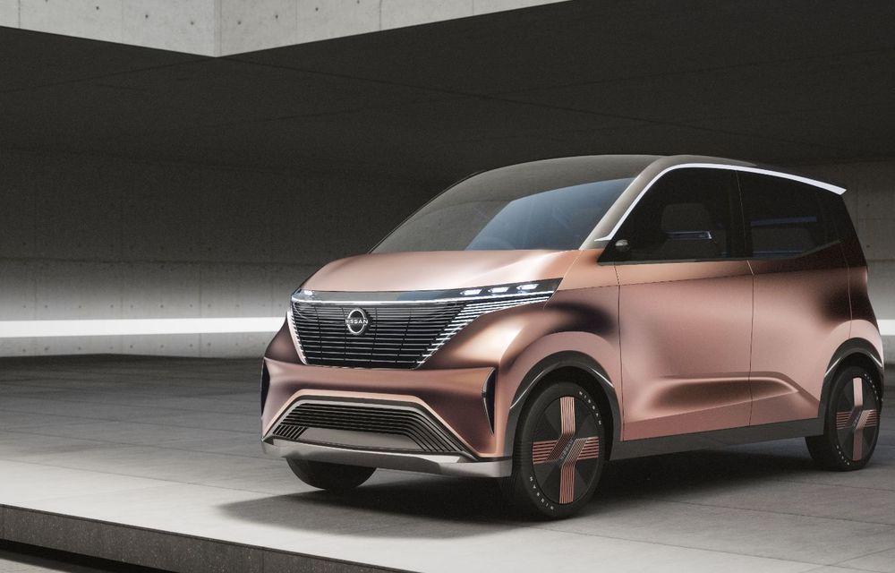 Nissan a prezentat conceptul electric IMk: prototipul are la bază o platformă nouă și anunță un viitor model de oraș - Poza 8