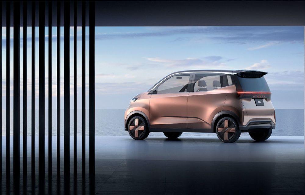 Nissan a prezentat conceptul electric IMk: prototipul are la bază o platformă nouă și anunță un viitor model de oraș - Poza 9