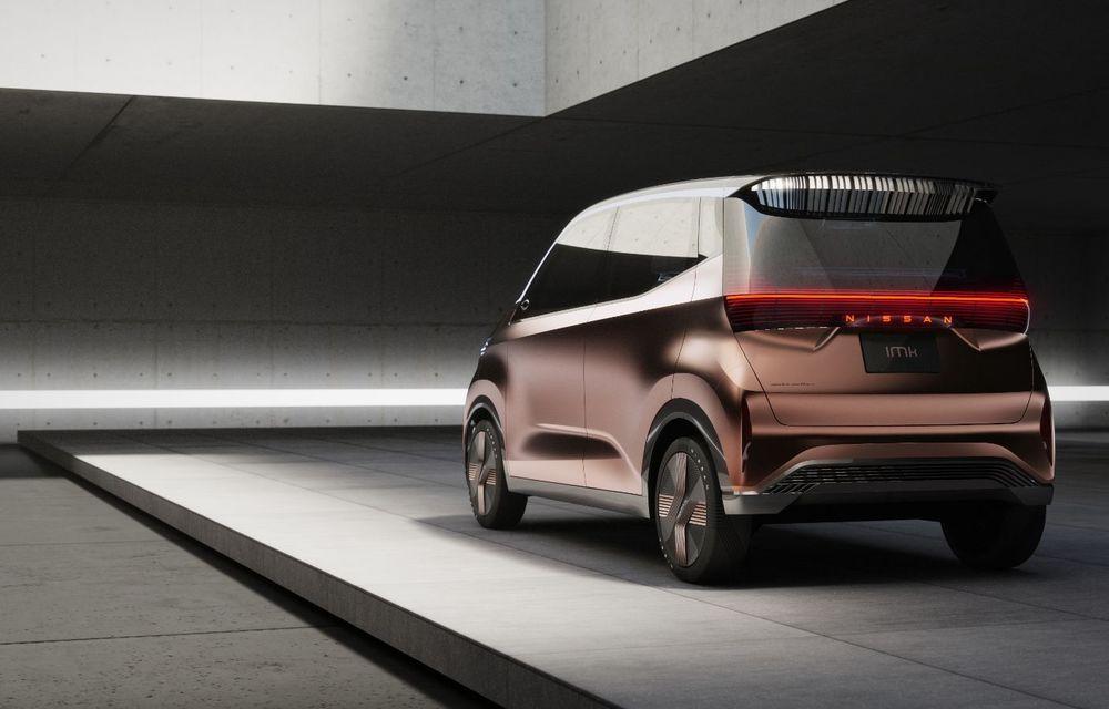 Nissan a prezentat conceptul electric IMk: prototipul are la bază o platformă nouă și anunță un viitor model de oraș - Poza 13