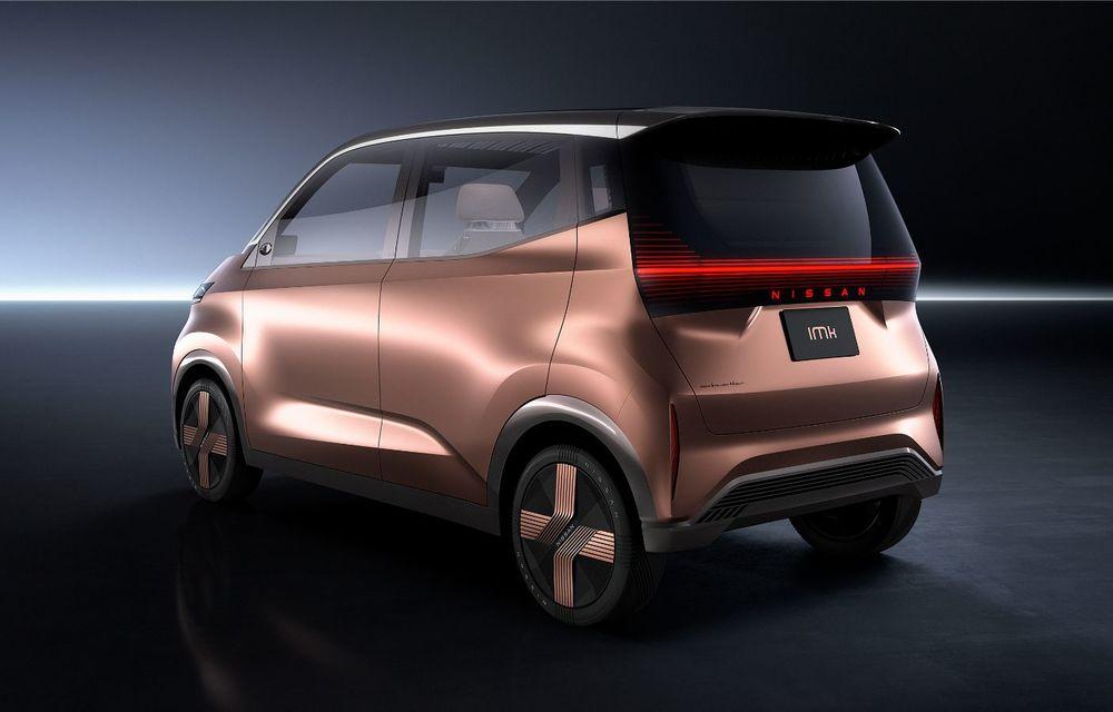 Nissan a prezentat conceptul electric IMk: prototipul are la bază o platformă nouă și anunță un viitor model de oraș - Poza 2