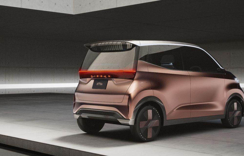 Nissan a prezentat conceptul electric IMk: prototipul are la bază o platformă nouă și anunță un viitor model de oraș - Poza 12